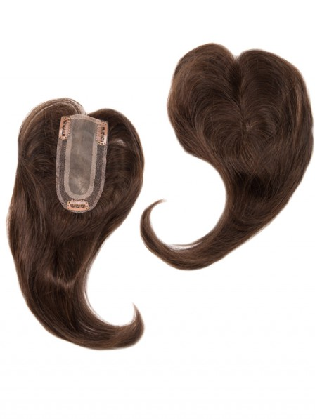 Add On Part Human Hair Topper