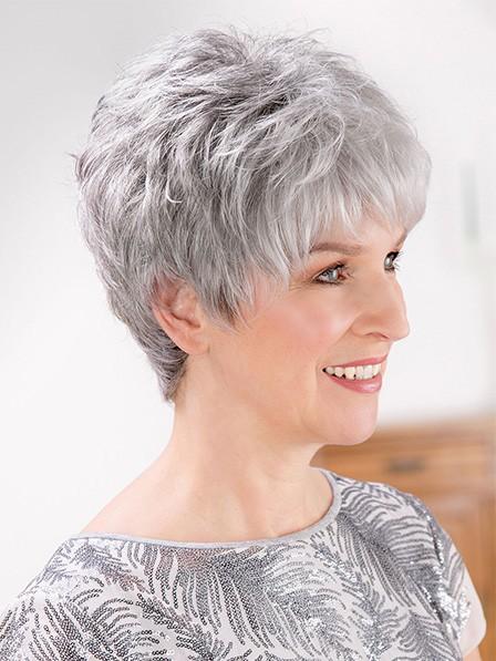 Cheap Capless Grey Wigs on Sale