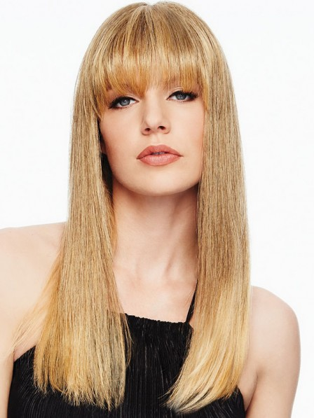 Clip in Fringe Top of Head Hair Piece