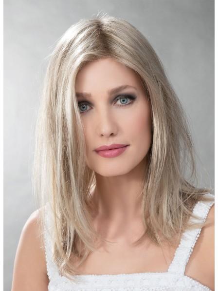Modern Capless Human Hair Blonde Wigs