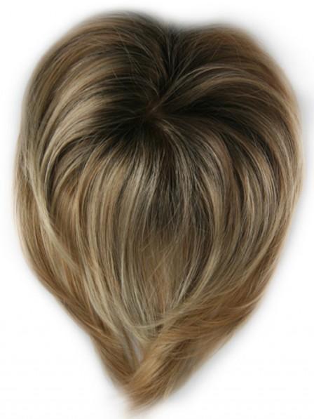 Monofilament Top Human Hair Piece
