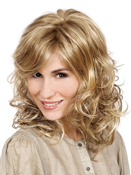 New Synthetic Blonde Wigs