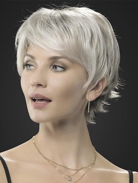 Simple Styke Short Grey Wigs
