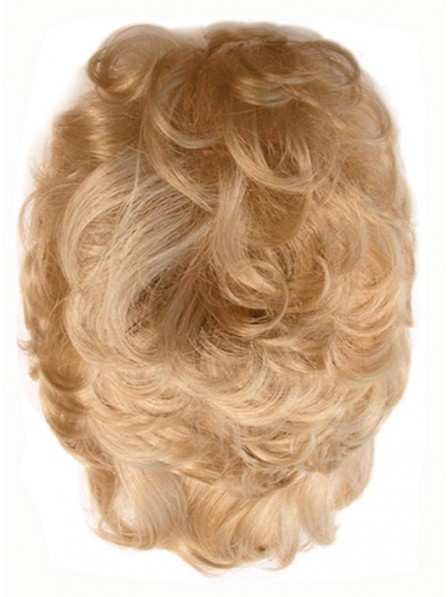 Human Curly Hair Addition Hairpiece