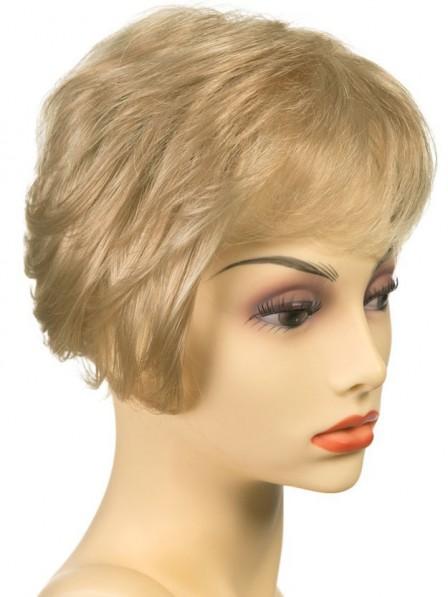 Human Hair Mono Wiglet Hairpieces