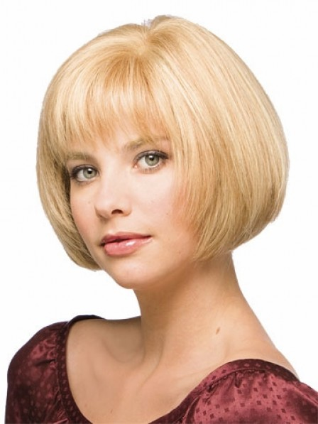 Natural Straight Lace Front Mono Top Human Hair Wigs