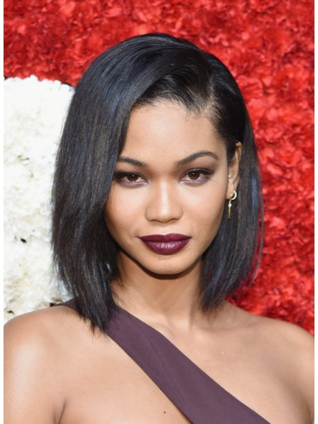 Full Lace Medium Straight Human Hair Wig