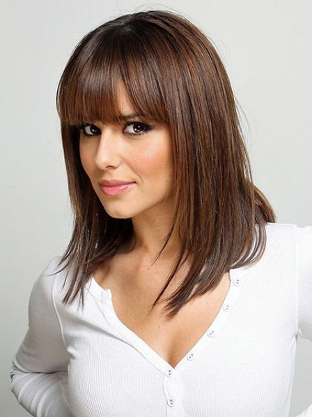 Shoulder Length Lace Front Straight Wig