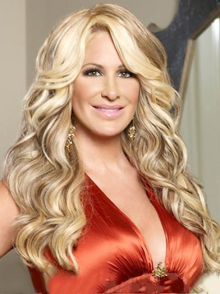 Long Wavy Synthetic Lace Front Wig For Women