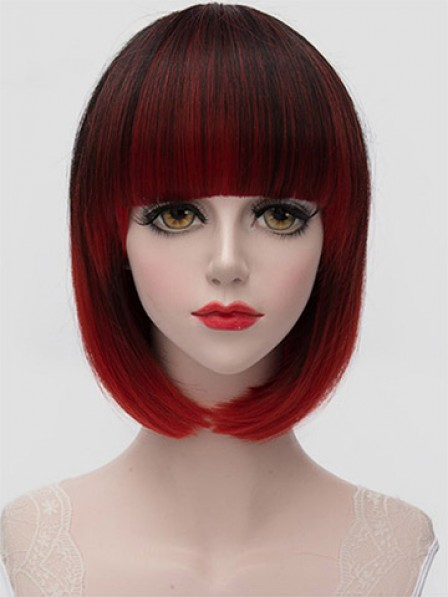 Bob Style Hair Side Bang Women's Synthetic Wig
